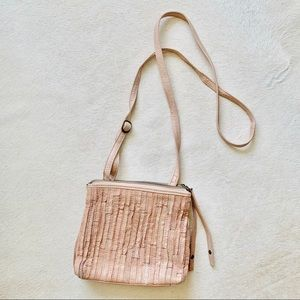Blush Italian Leather Bag